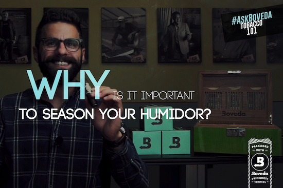 How to Season Your Humidor with Boveda