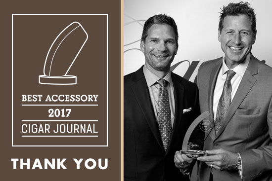 Awarded Best Cigar Accessory 2017