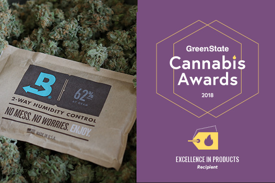 Boveda Captures Excellence in Products in the 2018 GreenState Cannabis Awards