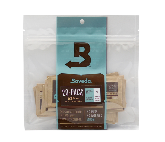 1g 20p-pack Boveda 62%