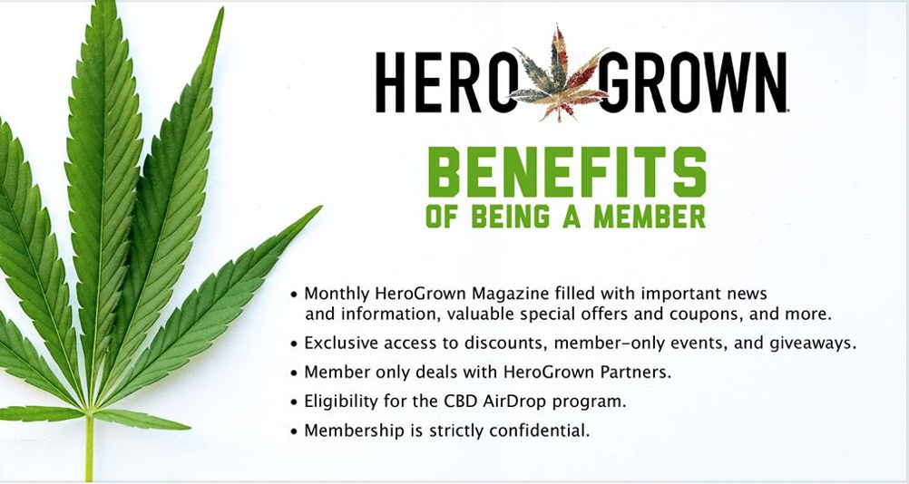 HeroGrown Benefits