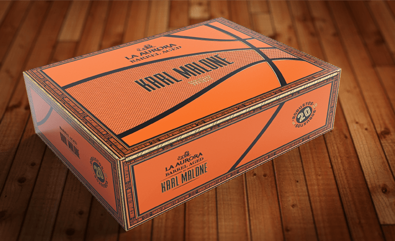 Karl Malone's cigar box reflex his basketball career.