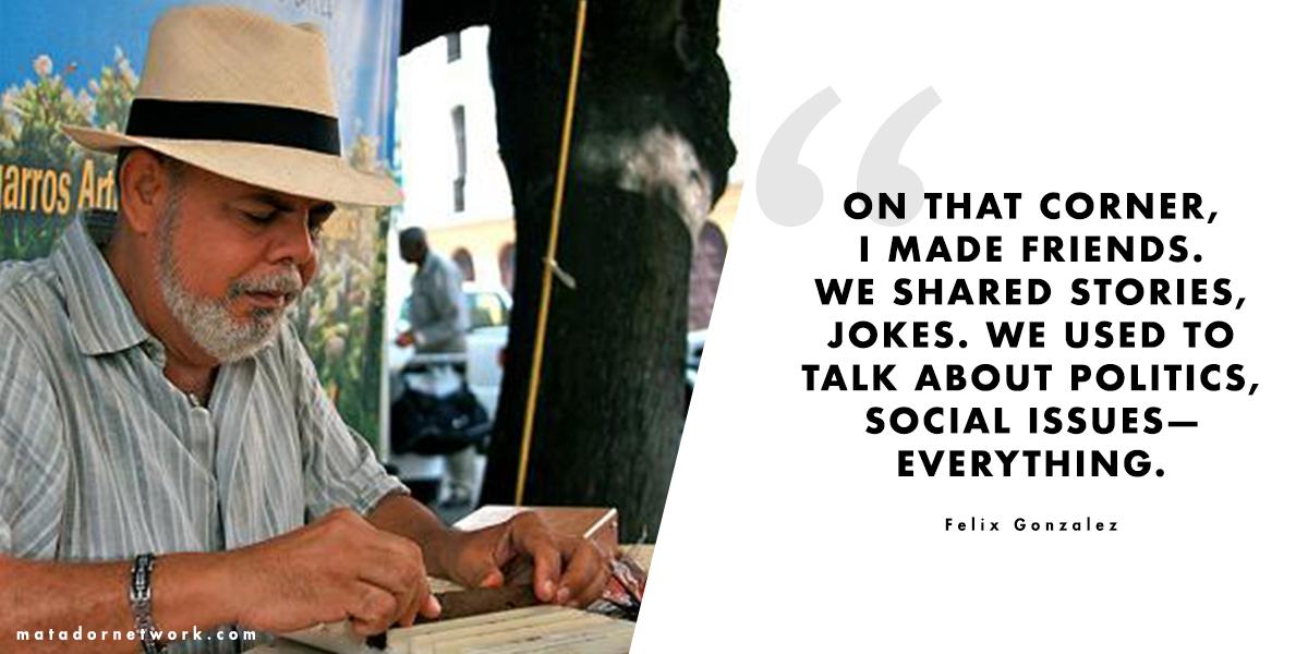 Felix Gonzalez Quote