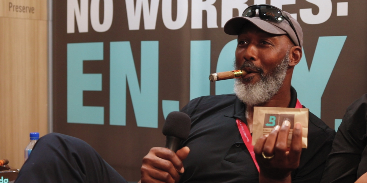 Karl Malone with Boveda