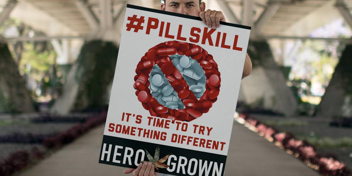 Pills Kill Hero Grown