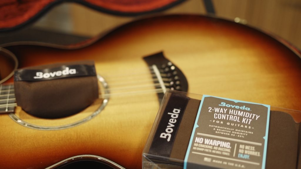 Switch to the precise, mess-free way to control humidity in your instrument case. First step is the Boveda Starter Kit for acoustic guitars or other wood instruments.