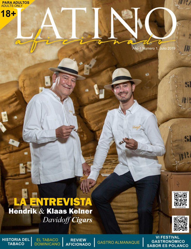 CAPTURING THE COVER is Henke and Klaas Kelner, the feature story in the new magazine for Spanish-speaking cigar lovers, Latin Aficionado.