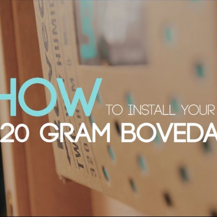 How to install 320g Boveda