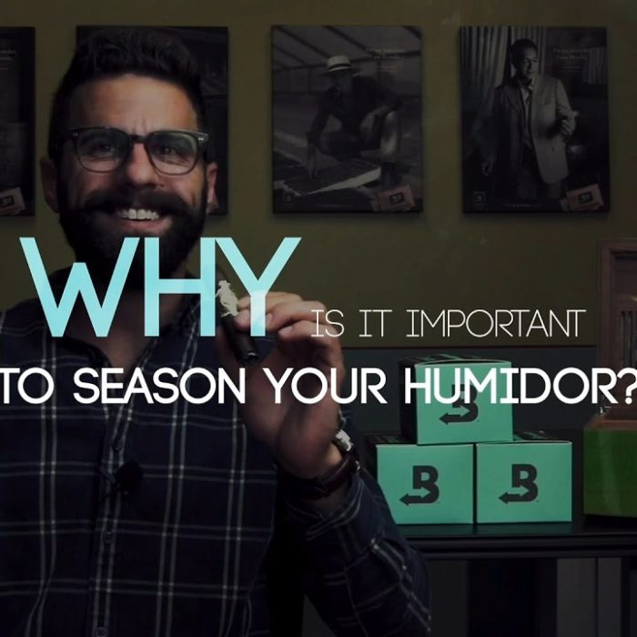 Why it's important to season your humidor