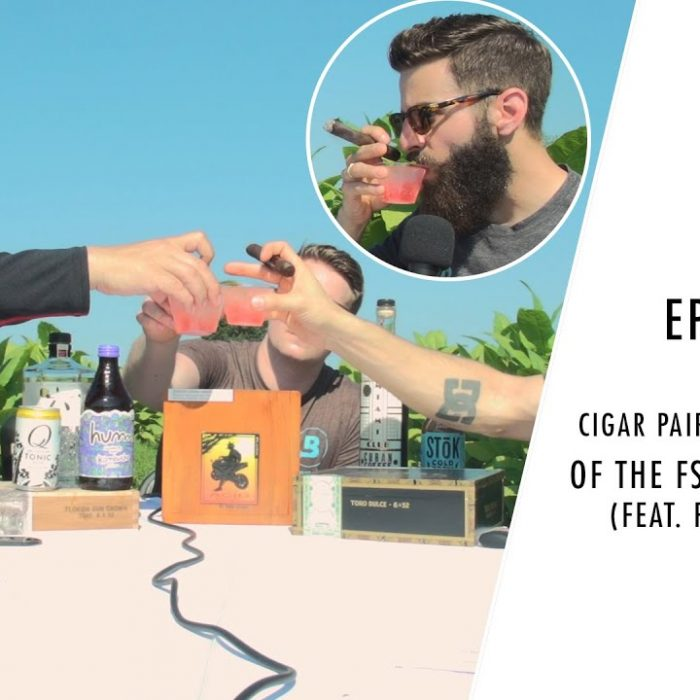 Cigar Pairings in the Middle of the FSG Tobacco Field! (Feat. Frankie Dranks) | Box Press Ep. 25