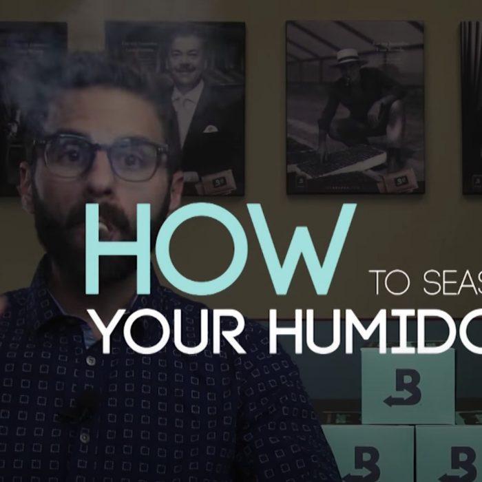 How to season your humidor