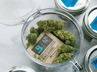 Boveda protecting cannabis