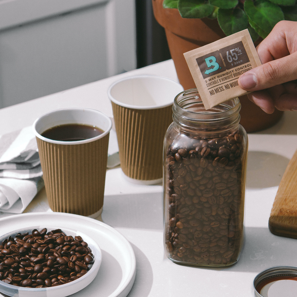 boveda protecing coffee beans
