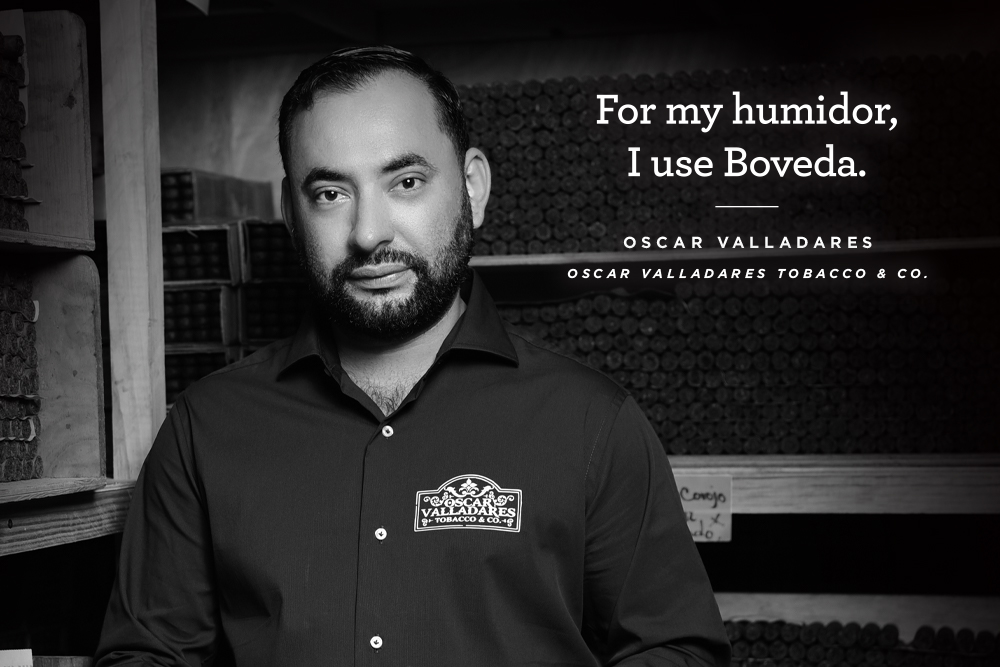 For My Humidor Oscar Valladares Uses Boveda Cigar Humidity Packs