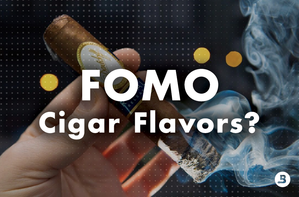 FOMO cigar flavors? Fully experience cigar flavors by storing cigars at the right RH with Boveda.